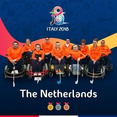 GP Bulls trotse hofleverancier van Nederlands Powerchair Hockeyteam